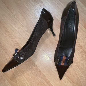 Gucci Vintage Brown Shoes - Size 6